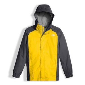 The North Face Women's yellow rain jacket size M